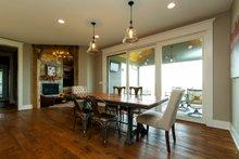 Architectural House Design - Craftsman Interior - Dining Room Plan #70-1471