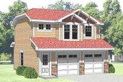 Farmhouse Style House Plan - 1 Beds 1 Baths 500 Sq/Ft Plan #116-129