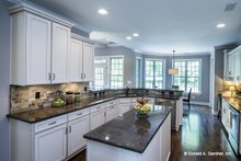 House Design - Country Interior - Kitchen Plan #929-610
