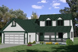 Traditional Exterior - Front Elevation Plan #116-215