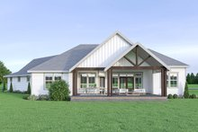 Farmhouse Exterior - Rear Elevation Plan #1070-22