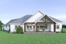 House Plan Design - Farmhouse Exterior - Rear Elevation Plan #1070-22
