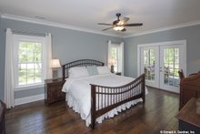 Dream House Plan - Country Interior - Master Bedroom Plan #929-670
