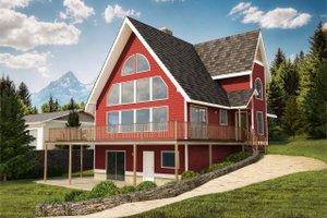 Modern Exterior - Front Elevation Plan #126-103