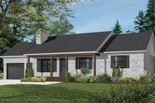 House Plan Design - Farmhouse Exterior - Front Elevation Plan #23-122