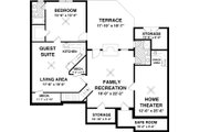 Colonial Style House Plan - 3 Beds 2.5 Baths 1800 Sq/Ft Plan #56-590 Floor Plan - Other Floor