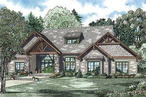 Craftsman Exterior - Front Elevation Plan #17-2445