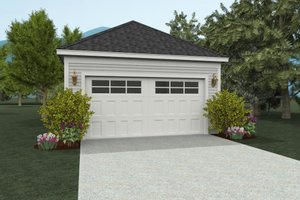Contemporary Exterior - Front Elevation Plan #932-232