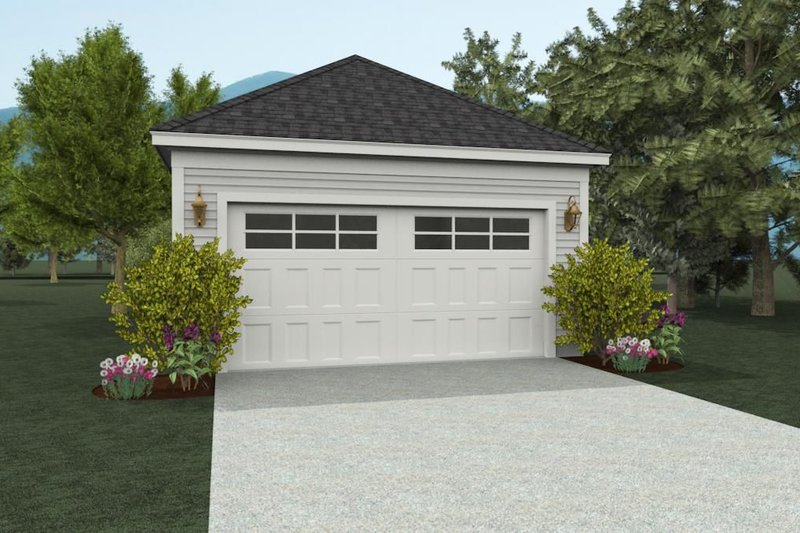 Dream House Plan - Contemporary Exterior - Front Elevation Plan #932-232