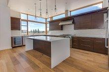 Contemporary Interior - Kitchen Plan #892-22