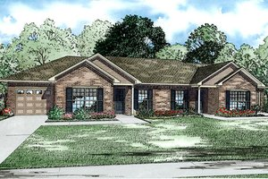 Traditional Exterior - Front Elevation Plan #17-2432