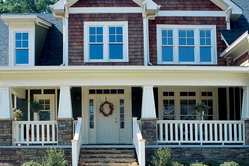 Craftsman Exterior - Front Elevation Plan #927-3 - Houseplans.com