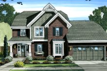 Dream House Plan - Country Exterior - Front Elevation Plan #46-447