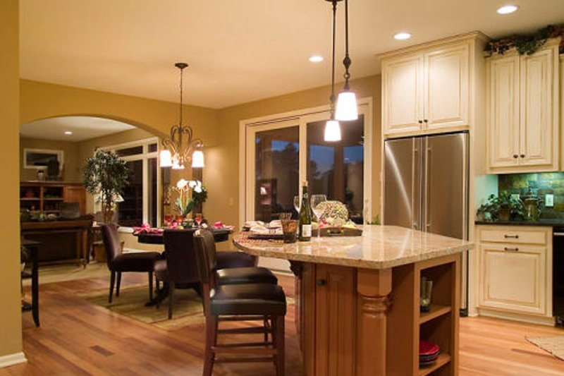 Craftsman Photo Plan #56-588 - Houseplans.com