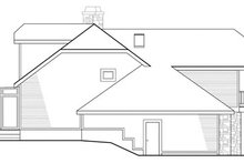 Contemporary Exterior - Other Elevation Plan #124-323