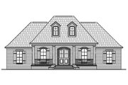 Traditional Style House Plan - 3 Beds 2.5 Baths 1888 Sq/Ft Plan #21-430 Exterior - Front Elevation