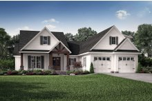 House Plan Design - Country Exterior - Front Elevation Plan #430-193