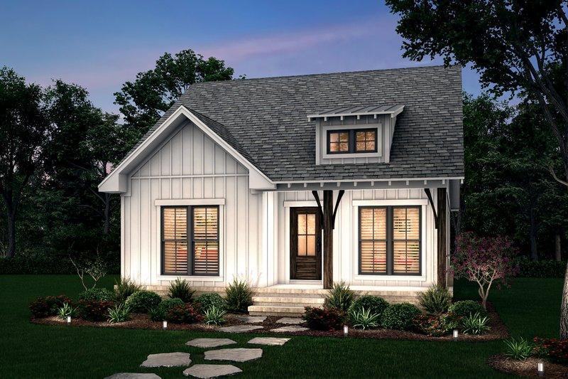 Farmhouse Style House Plan - 2 Beds 2 Baths 1252 Sq/Ft Plan #430-254