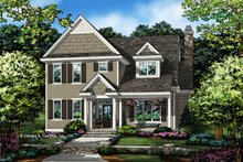 Traditional Exterior - Front Elevation Plan #929-1073