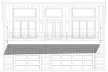 Home Plan - Modern Exterior - Front Elevation Plan #932-386