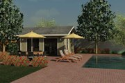 Cottage Style House Plan - 0 Beds 0 Baths 240 Sq/Ft Plan #499-1 Exterior - Front Elevation