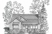 Dream House Plan - Cottage Exterior - Front Elevation Plan #22-571
