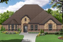 Home Plan - Traditional Exterior - Front Elevation Plan #84-588