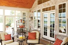 Architectural House Design - Country Exterior - Outdoor Living Plan #929-13