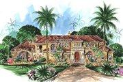 Mediterranean Style House Plan - 6 Beds 8.5 Baths 10178 Sq/Ft Plan #27-279