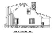 Cottage Style House Plan - 3 Beds 2 Baths 1374 Sq/Ft Plan #17-2018 Exterior - Other Elevation