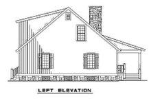 House Plan Design - Cottage Exterior - Other Elevation Plan #17-2018