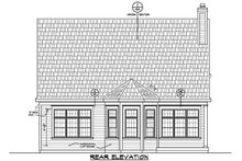 House Plan Design - Traditional Exterior - Rear Elevation Plan #20-2275