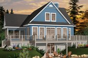 Country Style House Plan - 3 Beds 2 Baths 1832 Sq/Ft Plan #23-849