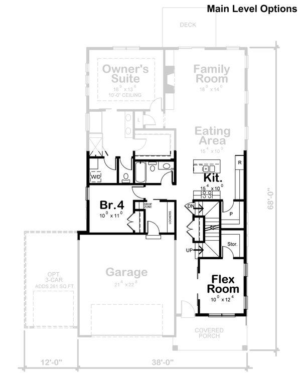Dream House Plan - Craftsman Floor Plan - Other Floor Plan #20-2359