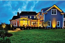Craftsman Exterior - Rear Elevation Plan #927-5