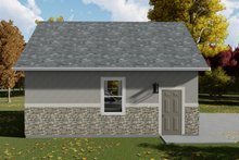 Dream House Plan - Traditional Exterior - Other Elevation Plan #1060-78