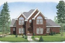 European Exterior - Front Elevation Plan #410-157
