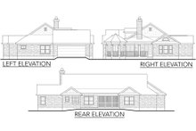 House Plan Design - Country Exterior - Other Elevation Plan #80-119