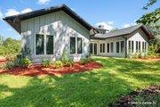 Prairie Style House Plan - 3 Beds 2.5 Baths 2115 Sq/Ft Plan #929-1001 Exterior - Rear Elevation