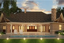 Ranch Exterior - Rear Elevation Plan #119-431