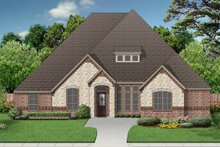 Home Plan - European Exterior - Front Elevation Plan #84-600