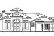 Mediterranean Style House Plan - 4 Beds 3 Baths 3034 Sq/Ft Plan #72-173