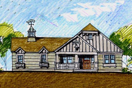 Craftsman Exterior - Front Elevation Plan #440-6