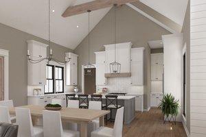 Farmhouse Interior - Kitchen Plan #1074-39
