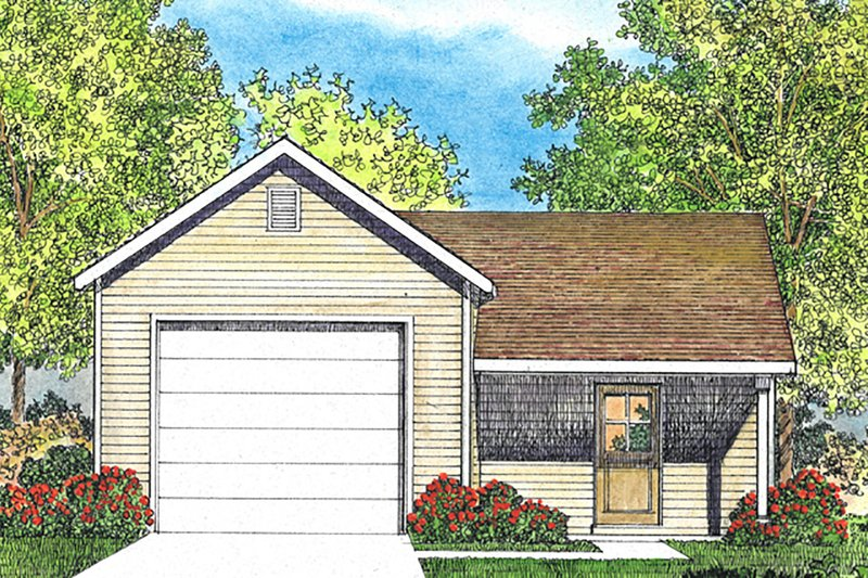 House Plan Design - Country Exterior - Front Elevation Plan #22-578