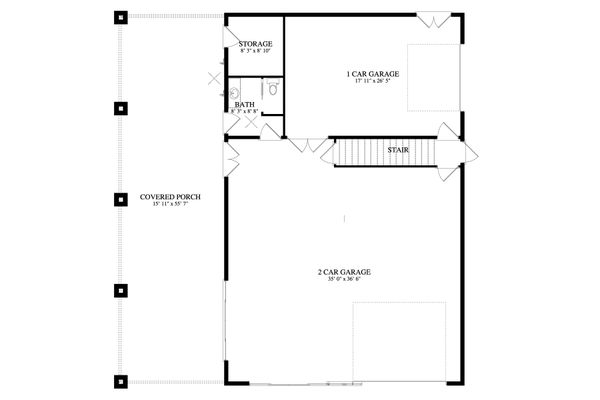 Dream House Plan - Traditional Floor Plan - Main Floor Plan #1060-81