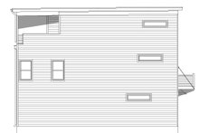 House Plan Design - Contemporary Exterior - Other Elevation Plan #932-319