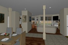 Ranch Interior - Other Plan #126-186