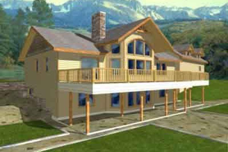 Dream House Plan - Modern Exterior - Front Elevation Plan #117-180
