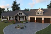 Farmhouse Style House Plan - 3 Beds 2.5 Baths 2271 Sq/Ft Plan #1070-22 Exterior - Front Elevation